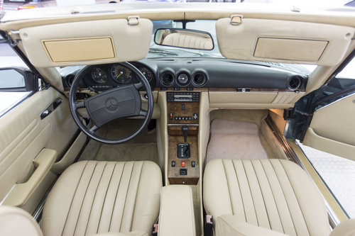 1988 Mercedes-Benz 560 SL LHD  For Sale (picture 6 of 6)