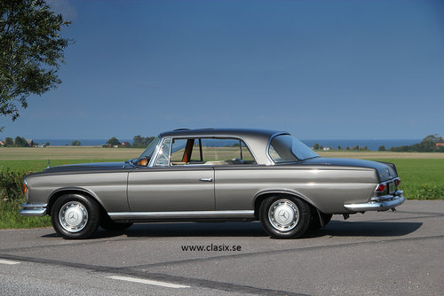 1965 Mercedes 220se Coupe W111 Sold Car And Classic