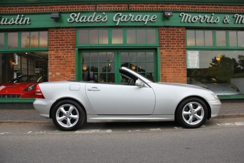 2003 Mercedes SLK 230 Convertible Automatic  SOLD (picture 1 of 4)