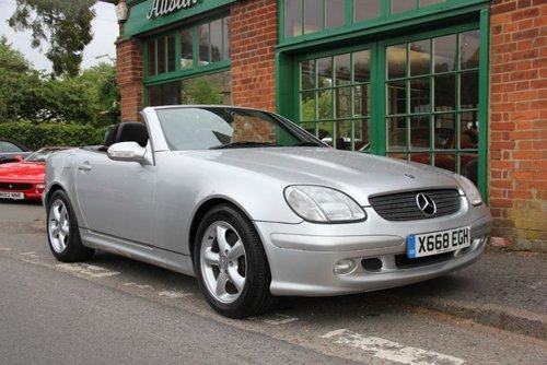2003 Mercedes SLK 230 Convertible Automatic  SOLD (picture 2 of 4)