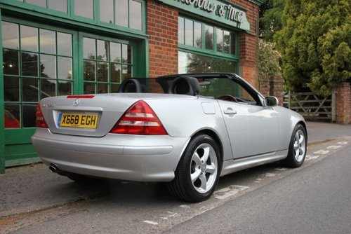 2003 Mercedes SLK 230 Convertible Automatic  SOLD (picture 3 of 4)