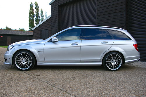 2011 Mercedes C63 6.2 AMG Edition 125 Estate Auto (37,323 miles) SOLD (picture 1 of 6)