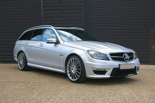2011 Mercedes C63 6.2 AMG Edition 125 Estate Auto (37,323 miles) SOLD (picture 2 of 6)