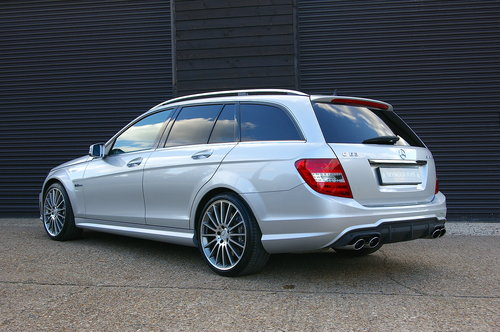 2011 Mercedes C63 6.2 AMG Edition 125 Estate Auto (37,323 miles) SOLD (picture 3 of 6)