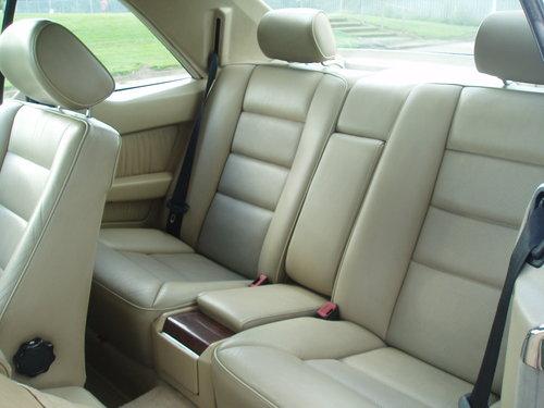 1995 Rare mercedes e class coupe 2.2 auto  amg alloys For Sale (picture 6 of 6)