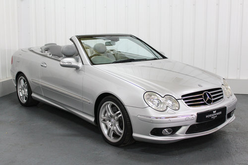 2004 Mercedes Benz CLK55 AMG W209 - Full Service History  For Sale (picture 1 of 6)