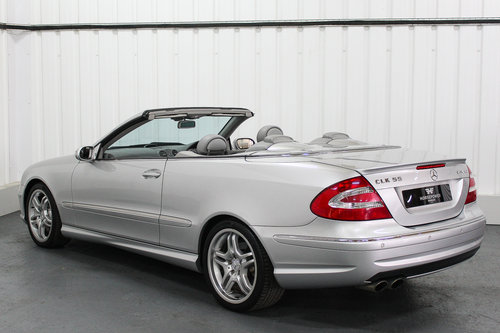 2004 Mercedes Benz CLK55 AMG W209 - Full Service History  For Sale (picture 2 of 6)