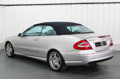 2004 Mercedes Benz CLK55 AMG W209 - Full Service History  For Sale (picture 5 of 6)