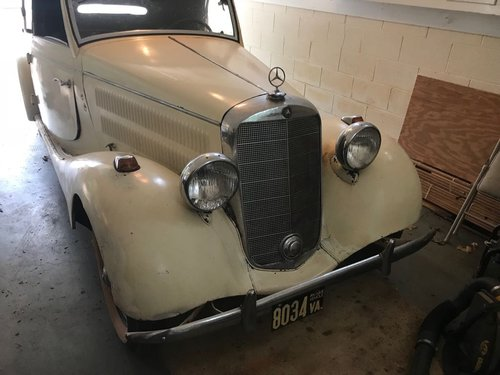 1938 Mercedes-Benz 170S Cabriolet A For Sale (picture 1 of 6)