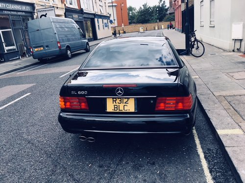 1997 Mercedes SL600 LHD AMG R 129 Panoramic For Sale (picture 1 of 6)