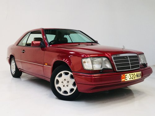 1995 W124 E320 COUPE - 1 PRIVATE OWNER - 57K MILES SOLD (picture 2 of 6)