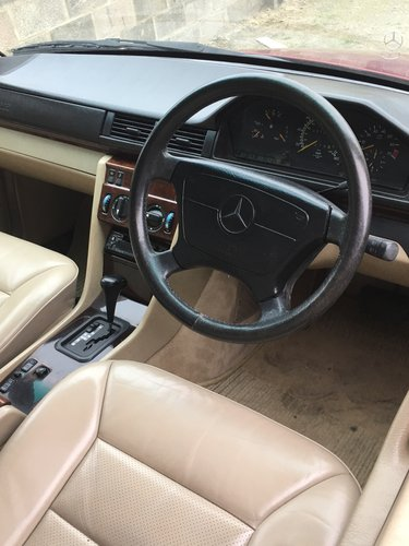 1995 W124 E320 COUPE - 1 PRIVATE OWNER - 57K MILES SOLD (picture 4 of 6)