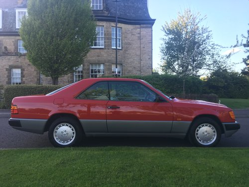1988 Mercedes W124 300CE coupe 50k miles SOLD | Car And Classic