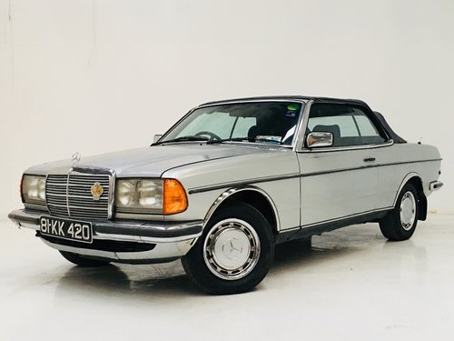 1981 MERCEDES-BENZ 230CE W123 CONVERTIBLE - LIGHT PROJECT SOLD (picture 1 of 6)
