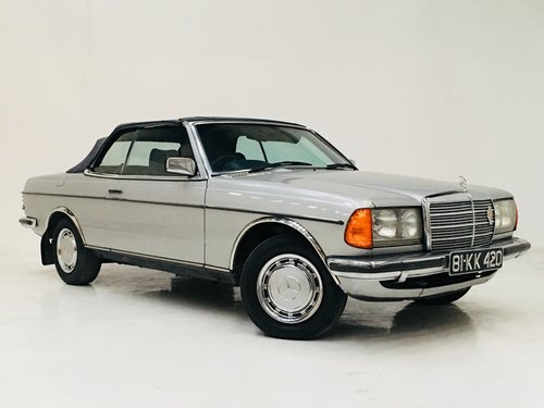 1981 MERCEDES-BENZ 230CE W123 CONVERTIBLE - LIGHT PROJECT SOLD (picture 2 of 6)