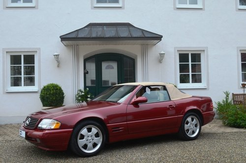 2000 MERCEDES SL 500 | R129 | Very nice, rare color combination For Sale (picture 1 of 6)