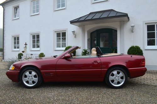 2000 MERCEDES SL 500 | R129 | Very nice, rare color combination For Sale (picture 2 of 6)