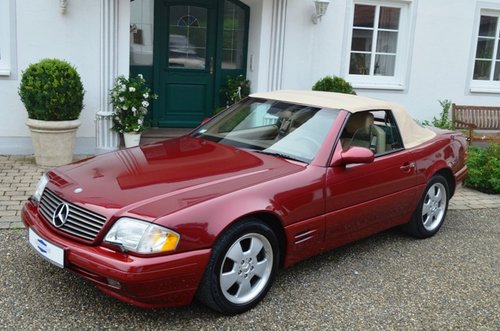 2000 MERCEDES SL 500 | R129 | Very nice, rare color combination For Sale (picture 4 of 6)