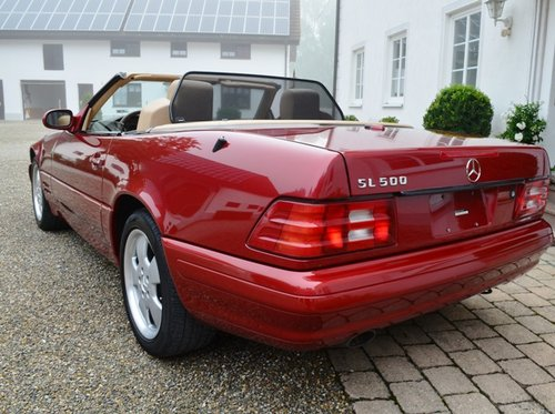 2000 MERCEDES SL 500 | R129 | Very nice, rare color combination For Sale (picture 6 of 6)