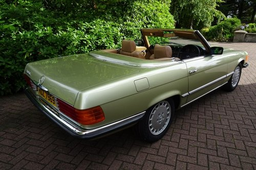 Exceptional Low Mileage 1984 Mercedes Benz 280SL For Sale (picture 2 of 6)