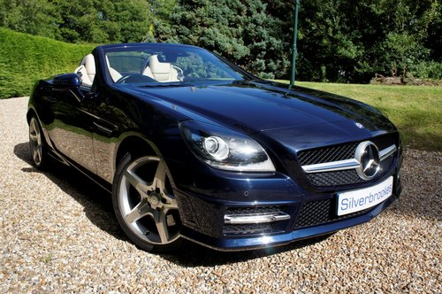 2011 Mercedes-Benz SLK 200 AMG Sport Edition 125 Auto For Sale (picture 1 of 6)