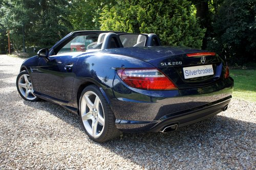 2011 Mercedes-Benz SLK 200 AMG Sport Edition 125 Auto For Sale (picture 2 of 6)