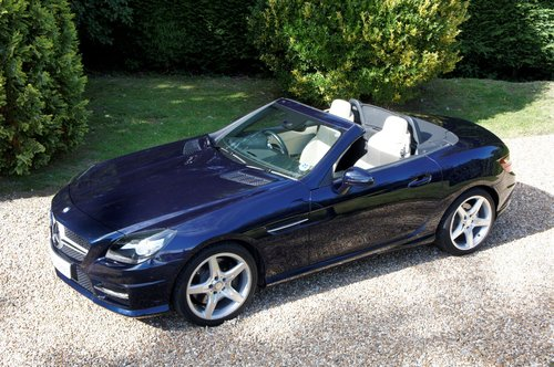 2011 Mercedes-Benz SLK 200 AMG Sport Edition 125 Auto For Sale (picture 3 of 6)