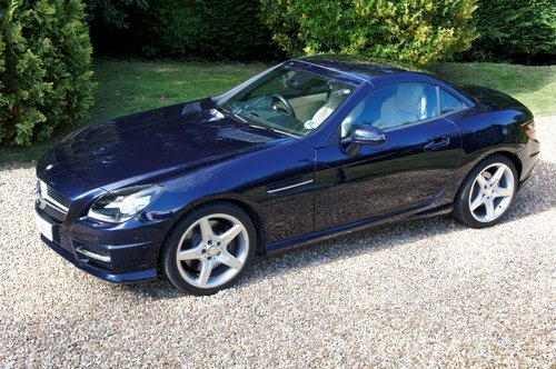 2011 Mercedes-Benz SLK 200 AMG Sport Edition 125 Auto For Sale (picture 4 of 6)