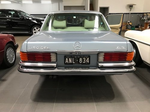 Mercedes-Benz 450 SEL 6.9 W116 in AS NEW condition For Sale (picture 3 of 6)