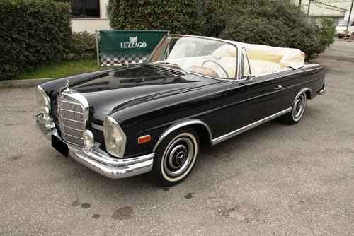1963 MERCEDES BENZ 220 SEB CABRIOLET SOLD (picture 1 of 6)
