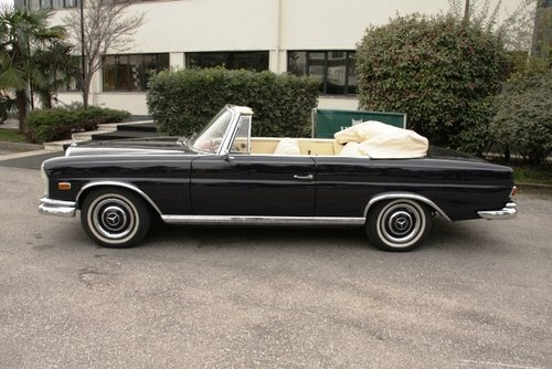 1963 MERCEDES BENZ 220 SEB CABRIOLET SOLD (picture 2 of 6)