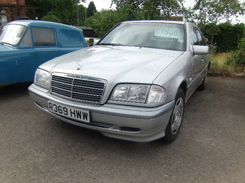 1998 Mercedes C180 For Sale (picture 1 of 1)