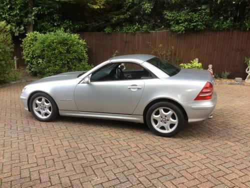 2003 Mercedes Benz SLK Kompressor Convertible For Sale (picture 4 of 6)