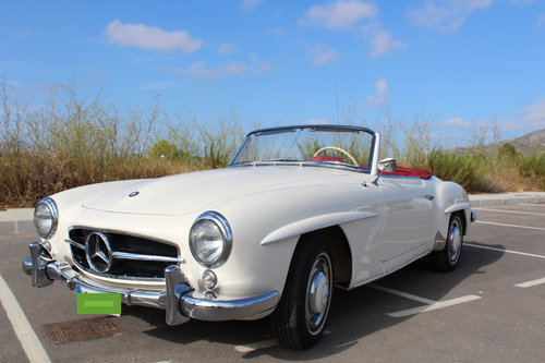 1956 Stunning MB 190SL - fully restored. For Sale (picture 1 of 6)