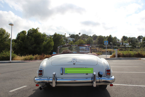 1956 Stunning MB 190SL - fully restored. For Sale (picture 4 of 6)