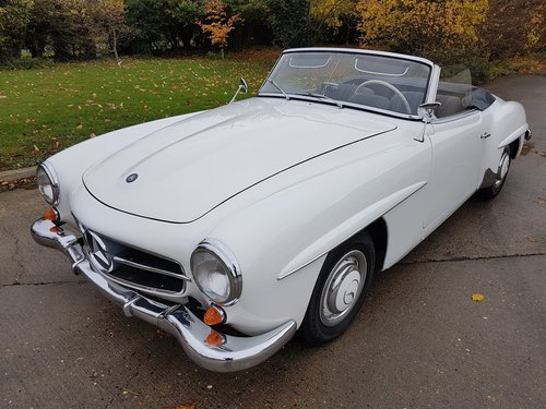 1958 Mercedes-Benz 190SL Roadster, Fully Original For Sale (picture 1 of 6)