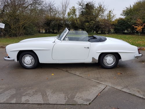 1958 Mercedes-Benz 190SL Roadster, Fully Original For Sale (picture 2 of 6)