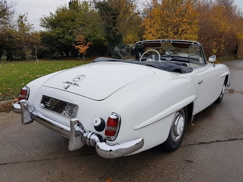 1958 Mercedes-Benz 190SL Roadster, Fully Original For Sale (picture 3 of 6)