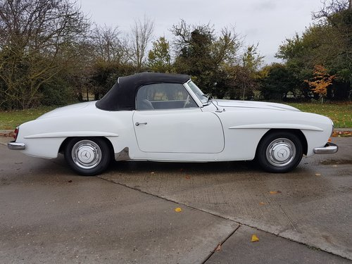 1958 Mercedes-Benz 190SL Roadster, Fully Original For Sale (picture 4 of 6)