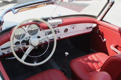 1956 Stunning MB 190SL - fully restored. For Sale (picture 6 of 6)