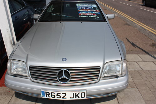 1998 Mercedes SL 320 Billiant Silver,Pan Roof Low mileage For Sale (picture 2 of 5)