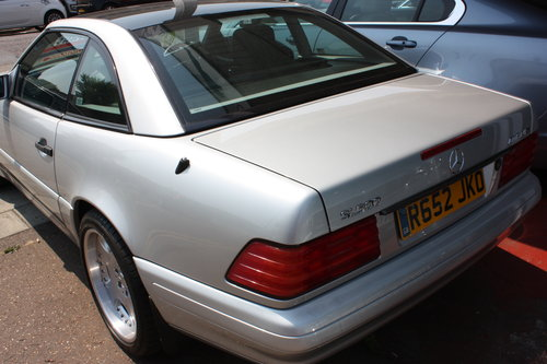1998 Mercedes SL 320 Billiant Silver,Pan Roof Low mileage For Sale (picture 4 of 5)