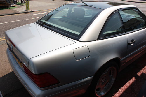 1998 Mercedes SL 320 Billiant Silver,Pan Roof Low mileage For Sale (picture 5 of 5)
