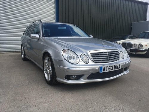 2004 Mercedes-Benz E55 AMG Estate 33000 miles only LHD  SOLD (picture 1 of 6)