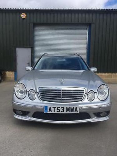 2004 Mercedes-Benz E55 AMG Estate 33000 miles only LHD  SOLD (picture 2 of 6)