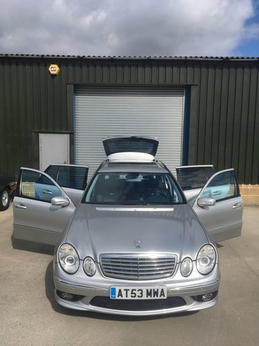 2004 Mercedes-Benz E55 AMG Estate 33000 miles only LHD  SOLD (picture 3 of 6)