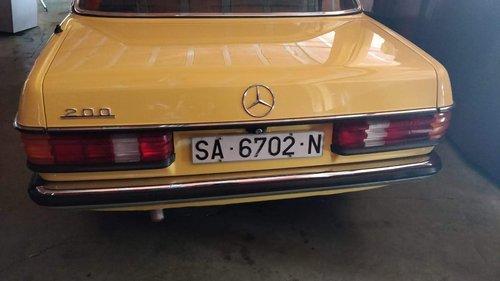 1982 Mercedes-Benz 200E W123 - 62.000 Km For Sale (picture 3 of 6)