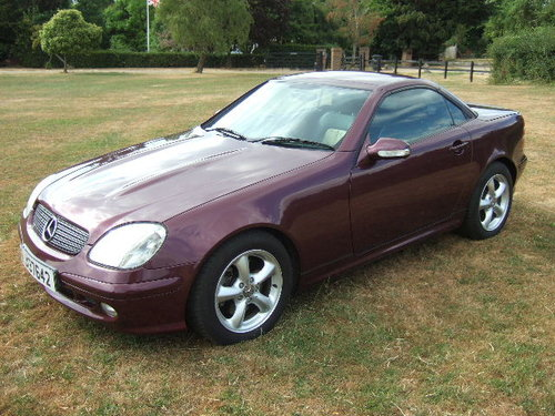 2001 Mercedes SLK320 V6 Convertible only 20000 miles SOLD (picture 3 of 6)