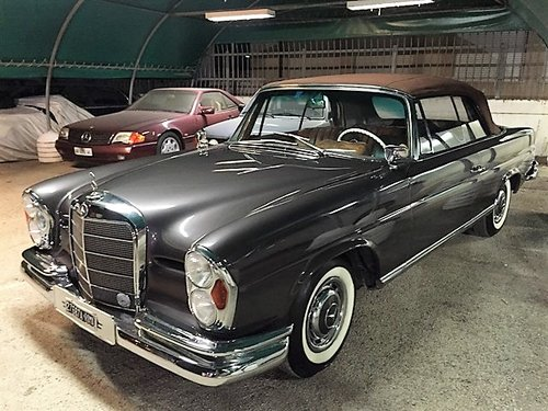1964 MERCEDES BENZ 220 SEB CABRIOLET MANUAL GEARBOX For Sale (picture 1 of 6)