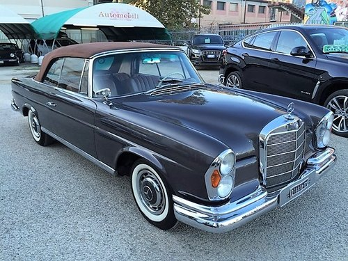 1964 MERCEDES BENZ 220 SEB CABRIOLET MANUAL GEARBOX For Sale (picture 2 of 6)